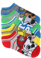 High Point Design Boys Paw Patrol Toddler & Youth No Show Socks - 5 Pack