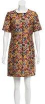 Celine Floral Patterned Mini Dress