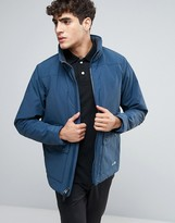 Abercrombie & Fitch Thermo Peak Jacket In Navy