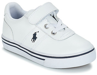 Polo Ralph Lauren HANFORD EZ girls's Shoes (Trainers) in White