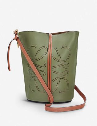 Loewe Gate leather bucket bag
