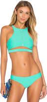 Beach Riot x REVOLVE x A Bikini A Day Abigail Top in Mint. - size L (also in )