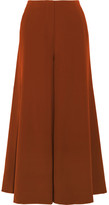 Elizabeth and James Delany Washed-satin Wide-leg Pants - Copper