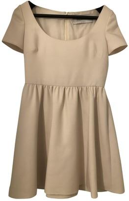 Valentino White Silk Dress for Women