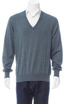 Loro Piana Silk & Cashmere-Blend V-Neck Sweater