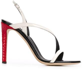 Giuseppe Zanotti Curved Heeled Sandals
