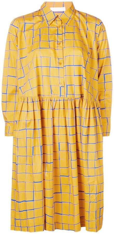 Peter Jensen check shirt dress