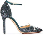 Charlotte Olympia 'Twilight Princess' pumps - women - Calf Leather/Polyester - 41