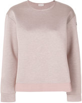 Moncler classic fitted sweatshirt