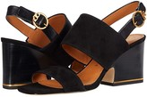 Tory Burch Selby 75 mm Block Heel Sandal (Perfect Black/Perfect Black) Women's Shoes