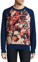 Salvatore Ferragamo Textured Handstitched Sweater