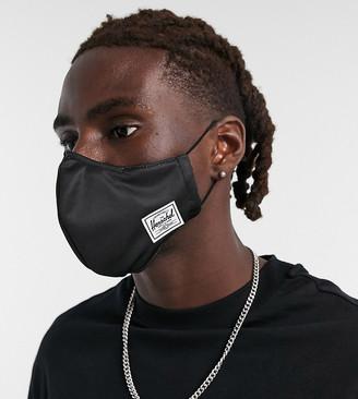Herschel face covering in black