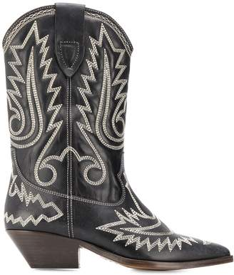 Isabel Marant Duerto embroidered boots