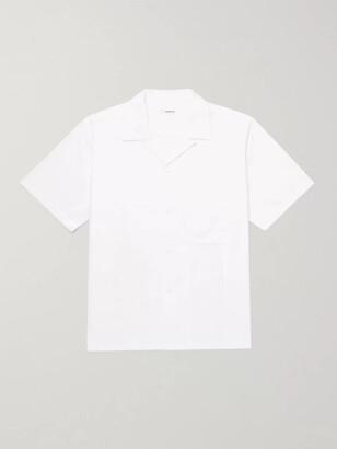 Nanamica Wind Camp-Collar Cotton-Blend Shirt - Men