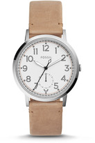 Fossil Everyday Muse Multifunction Light Brown Leather Watch