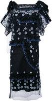 Antonio Marras fringed floral dress - women - Cotton/Polyester/Lyocell/Spandex/Elastane - 40