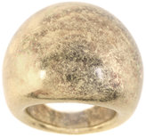 ASOS Burnished Metallic Domed Ring