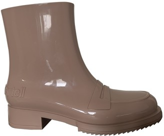 Kartell Beige Rubber Ankle boots