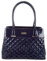 LK Bennett Quilted Patent Leather Tote