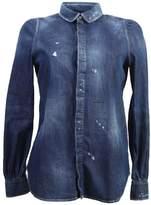 DSQUARED2 Denim Stretch Shirt