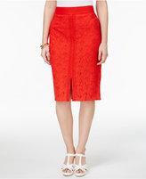 Thalia Sodi Crocheted Pencil Skirt, Created for Macy's