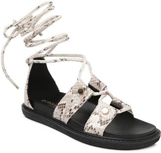 BCBGeneration Ankle Strap Flat Sandals - Millie