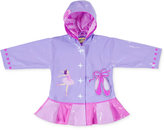 Kidorable Little Girls' Hooded Ballerina Raincoat