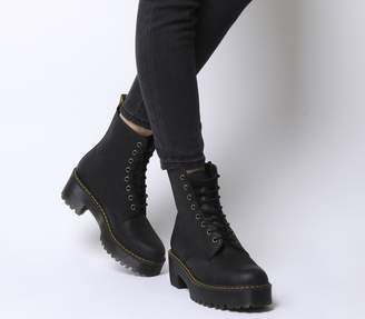 Dr. Martens Shriver Hi Lace Boots Black