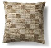 BEIGE To Be Living Silk/Cotton Throw Pillow to BE living Color