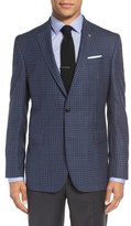 Ted Baker 'Jay' Trim Fit Check Wool Sport Coat