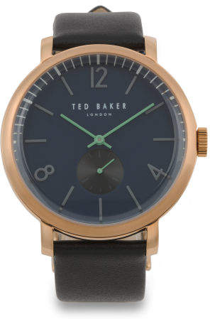 99c7b4cebcd6 Mens Rose Gold Watch Leather Strap - ShopStyle