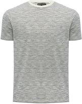 M&Co Stripe crew neck t-shirt