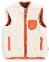 Splendid Infant Boy's Reversible Faux Shearling Vest