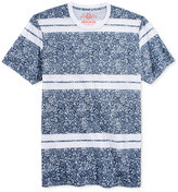 American Rag Men's Leafy Stripe T-Shirt, Only at Macy's