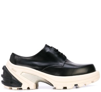 Alyx chunky two tone Derby shoes