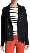 Theory Tralsmin New Divide Oversize Moto Jacket