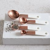 west elm Copper + Enamel Measuring Spoons