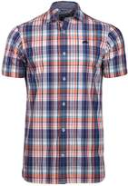 Men's Raging Bull Big And Tall Short Sleeve Poplin Check Shirt