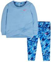 Nike Baby Girl Dri-FIT Tunic & Print Leggings Set