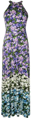 Mary Katrantzou Floral Print Pleated Skirt Dress