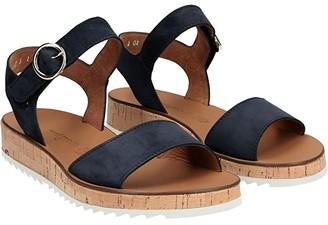 Paul Green Audrey Sandal (Sunflower Nubuck) Women's Shoes