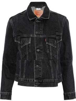 Vetements Faded Denim Jacket
