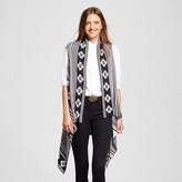 Sylvia Alexander Women's Knit Sweater Vest Black and White