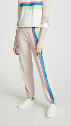 Wildfox Couture Mellow Stripe Easy Sweatpants