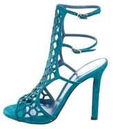 Tamara Mellon Honeycomb Cage Sandals