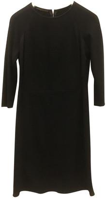 Narciso Rodriguez Black Wool Dresses