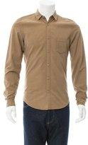 Burberry Long Sleeve Button-Up Shirt