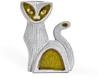 Jonathan Adler Glass Menagerie Cat Bud Vase