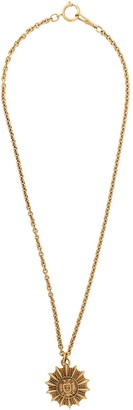Chanel Pre Owned 1975-1985 Statement Pendant Necklace