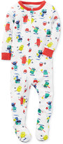Carter's 1-Pc. Monster-Print Footed Pajamas, Baby Boys (0-24 months)